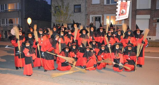 Halloween parade à Blankenkerge